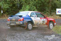 Tim O'Neil, Martin Headland, Franconia, NH Schomberg, ON, '02 Subaru WRX