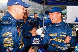 Kaj Lindstrom and Petter Solberg
