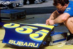 Miembros del equipo Subaru