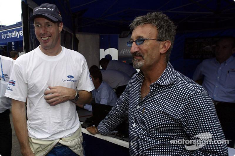 Colin McRae and Eddie Jordan
