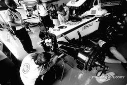 BAR-Honda garage area
