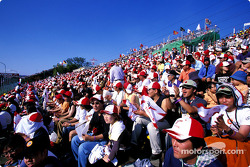 Suzuka fans before the race