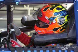 Jeff Gordon behind the wheel