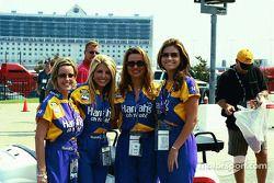 The lovely Harrahs girls