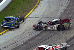 Charles Pasteryak and Nevin George spin out