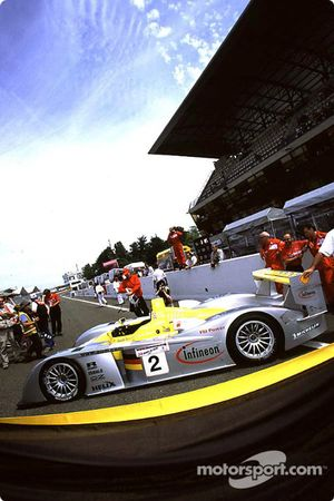 Audi on the track