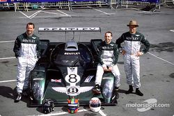 Team Bentley: Butch Leitzinger, Andy Wallace y Eric Van De Poele