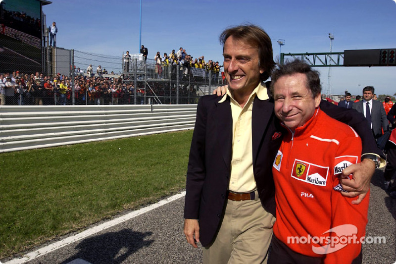 Luca di Montezemelo and Jean Todt