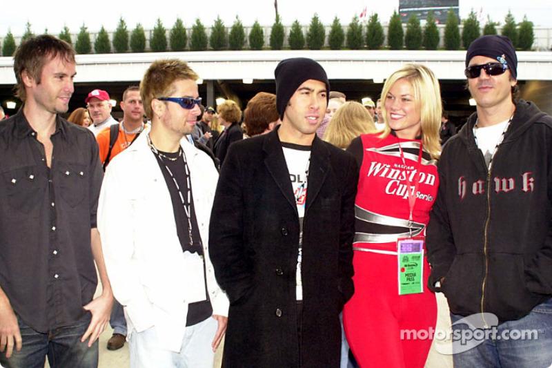 Shannon con el grupo Third Eye Blind