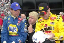 Michael Waltrip, Bobby Hamilton y Steve Park