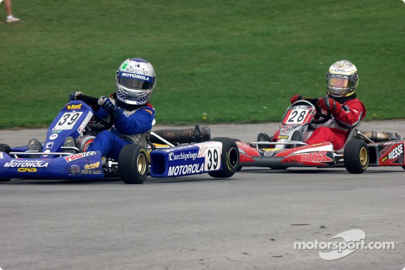 Adam Pecorari d'Aston à la chasse de Marco Andretti, petit fils de la légende Mario Andretti en For