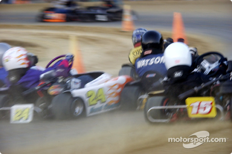 Briggs Junior Restricted Heavy-#5-Charles Short, #30-Jordan Watson, #15-Ryan Chism and #24-Courtney Lewis
