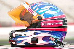 La promoción familiar de Coca-Cola Racing: el casco de Kurt Busch