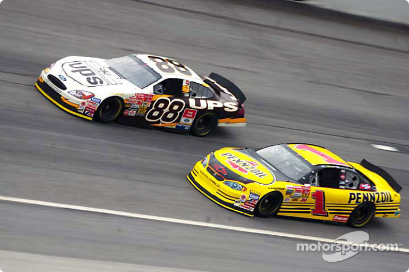 Dale Jarrett y Steve Park