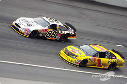 Dale Jarrett and Steve Park