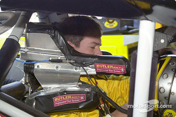 Steve Park gets ready for practice