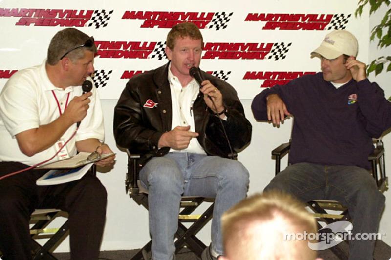 Segundo y tercer lugar en la arrancada, Bill Elliott y Jeff Gordon