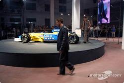 Spoon/Mild Seven RenaultF1 Media Party: Jarno Trulli
