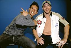 A visit of Tokyo with Jacques Villeneuve
