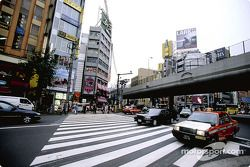 Una escena callejera en Tokio