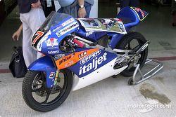 Moto de carreras de 125cc