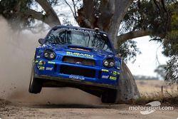 Томми Мякинен и Кай Линдстрём, Subaru Impreza S8 WRC '02, Ралли Австралия 2002 года