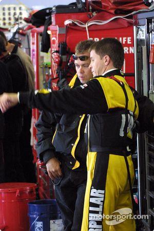 Ward Burton y Frankie Stoddard