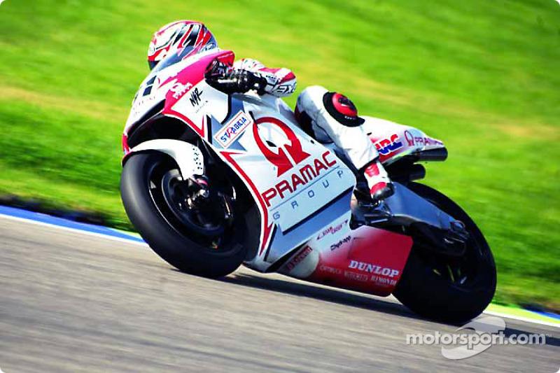 Tetsuya Harada, Pramac Honda