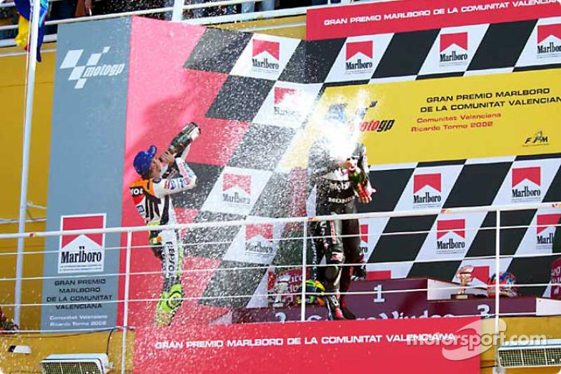 Celebración con champaña