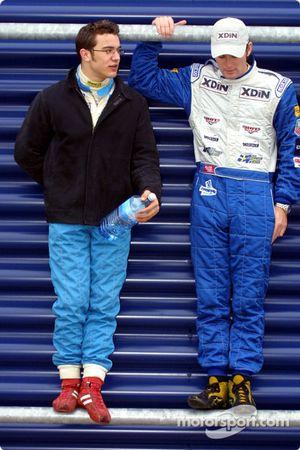 Rob Austin and Robin Rudholm