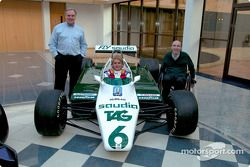Patrick Head, Nico Rosberg y Frank Williams