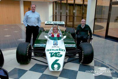 Nico Rosberg visita la sede della WilliamsF1 a Grove