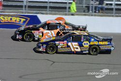 Robby Gordon y Michael Waltrip