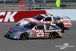 Kevin Harvick and Brett Bodine