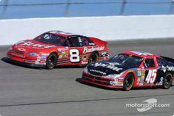 Dale Earnhardt Jr. y Kyle Petty