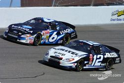 Ryan Newman and Mark Martin
