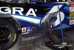 Aquí la prueba de que Mark Martin presiona en busca de velocidad en preparación para la carrera que
