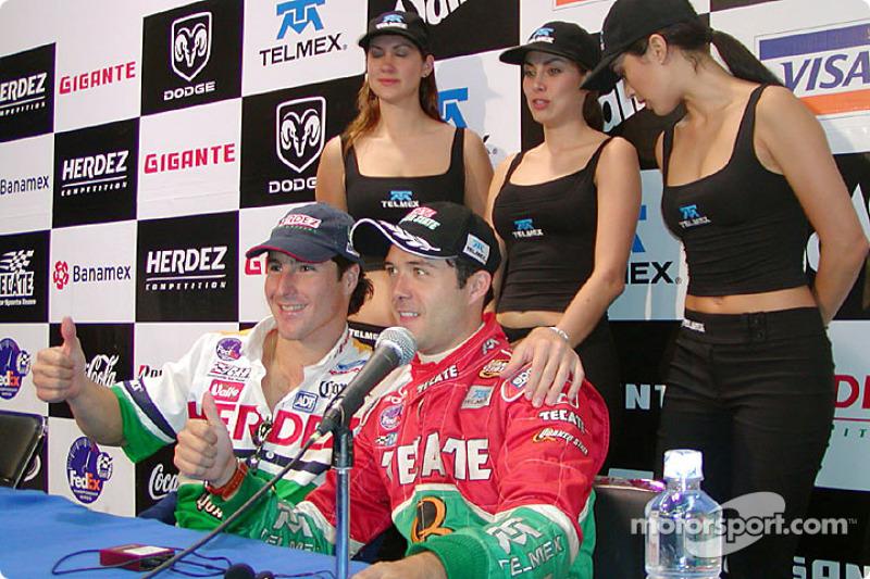 Mario Dominguez et Luis Diaz
