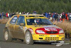 El Campeón juvenil del WRC 2002, Daniel Sola