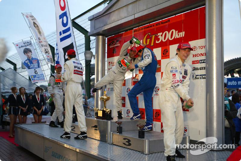 GT500 1st Tsugio Matsuda;Ralph Firman,2nd Keiichi Tsuchiya;Katsutomo Kaneishi,3rd Jyuichi Wakisaka;A