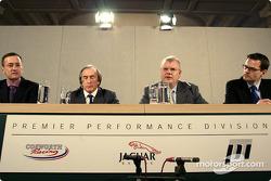 Sir Jackie Stewart and Richard Parry Jones