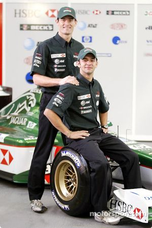 Mark Webber ve Antonio Pizzonia