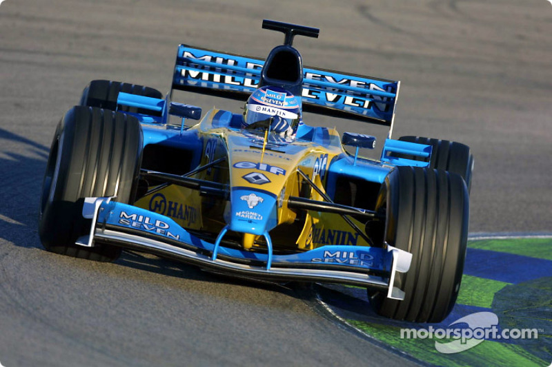 2002: Jarno Trulli, Renault R202