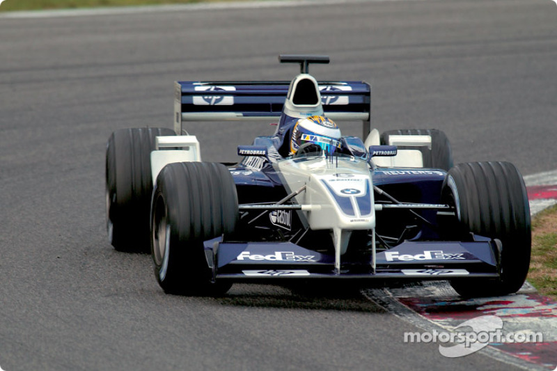 Nico Rosberg: 2002 – Williams