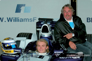 Nico Rosberg and dad Keke