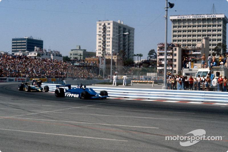 Jean-Pierre Jarier y Mario Andretti