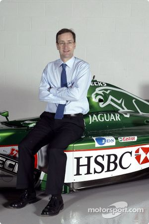 New head of Jaguar Racing's premier performance division Tony Purnell at the team's headquarters in Milton Keynes