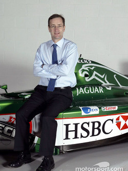 New head of Jaguar Racing's premier performance division Tony Purnell at the team's headquarters in