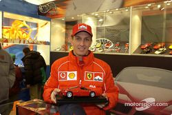 Luciano Burti, Hot Wheels stand