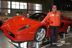 Luciano Burti ve Ferrari Enzo